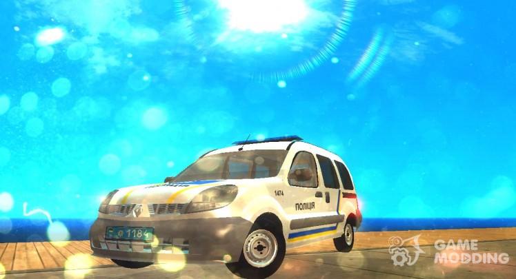 Renault Kangoo Police Ukraine