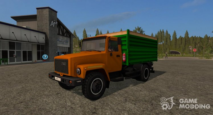 GAZ-35071 and trailer SAZ 83173 version 1.1