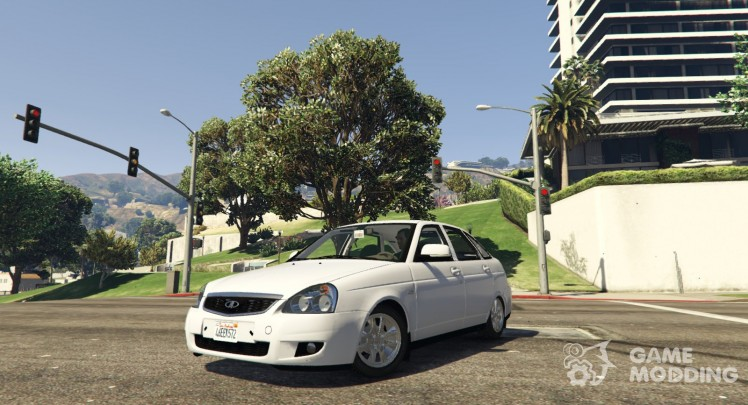 Lada Priora Hatchback for GTA 5