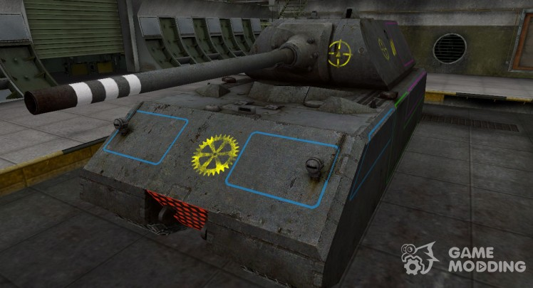 Contour zone breakthrough Maus for World Of Tanks