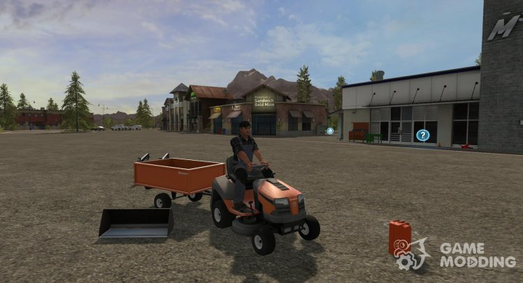 Husqvarna Lawn Tractor Package version 1.0.0.0