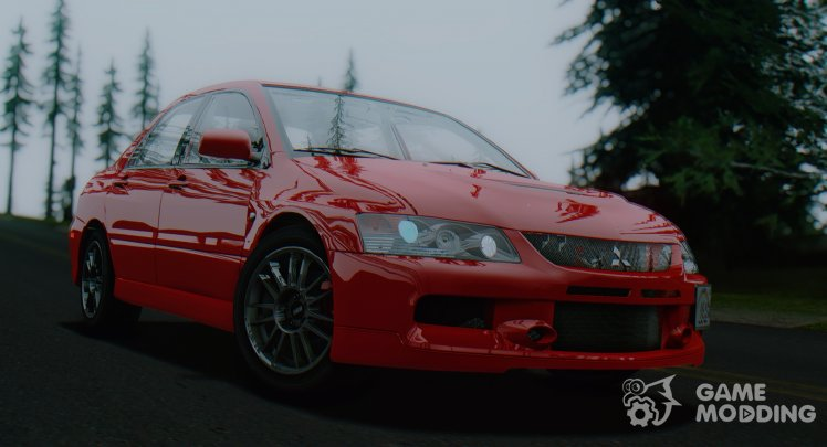 2006 Mitsubishi Lancer Evolution IX MR (USDM)