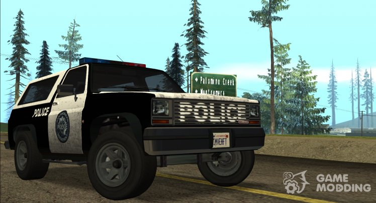 Police Ranger for GTA San Andreas