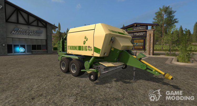 Krone Big Pack 120-80 version 2.1.0.0