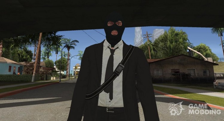 GTA Online Random Robbery (male) for GTA San Andreas