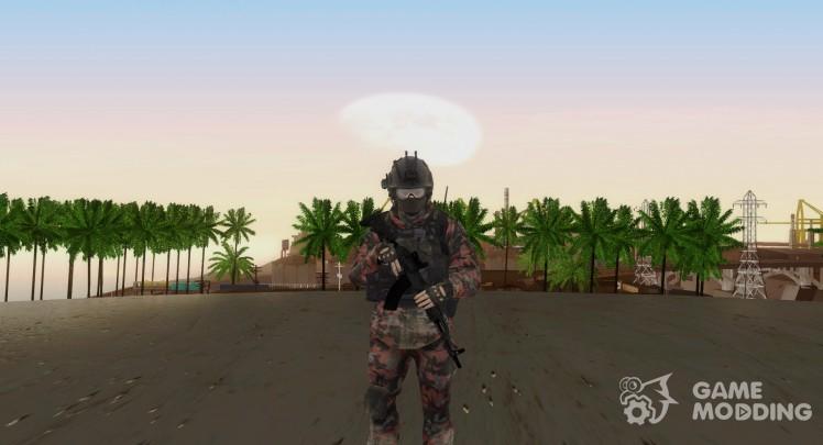 COD MW2 Russian Paratrooper v1