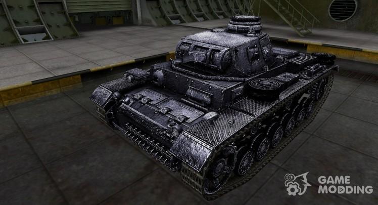 Темный скин для PzKpfw III