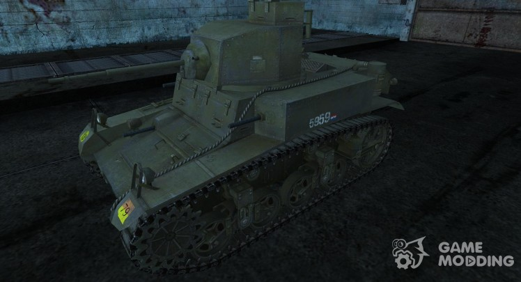Skin for M3 Stuart (Dutch)