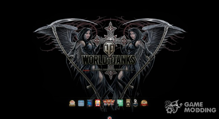 Protector de pantalla de World of tanks con las chicas