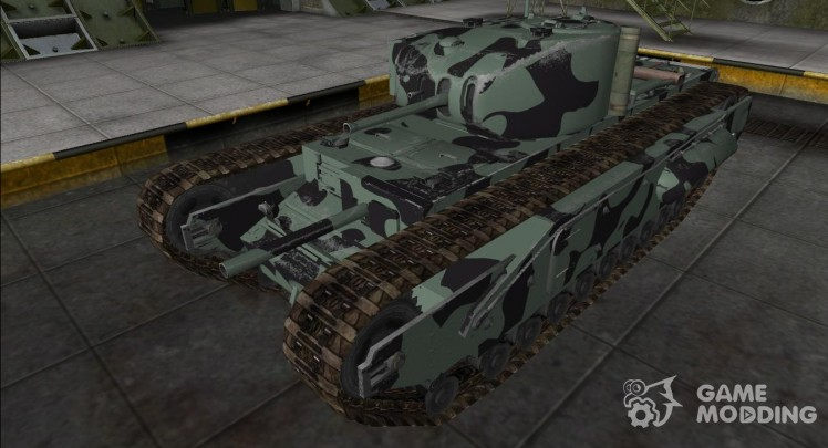 The skin for the Churchill I