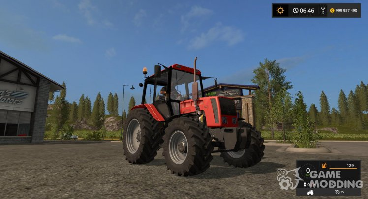MTZ-826 (Belarus) for Farming Simulator 2017