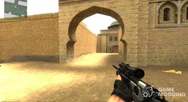 Urban Scout for Counter-Strike Source