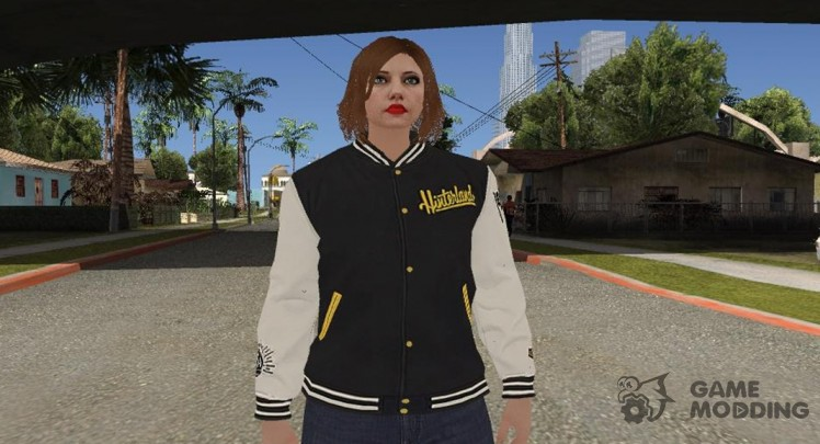GTA Online Random 8 (female) for GTA San Andreas