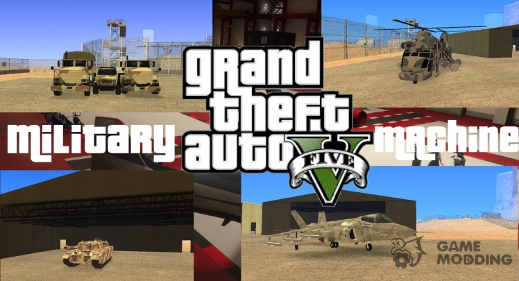 GTA V Military Equipment