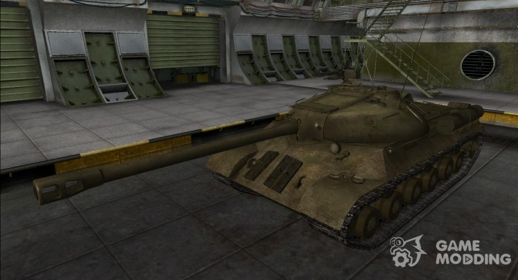 Remodeling for tank is-3