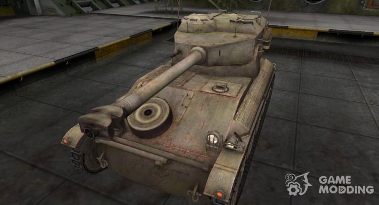 Пустынный французкий скин для AMX 12t
