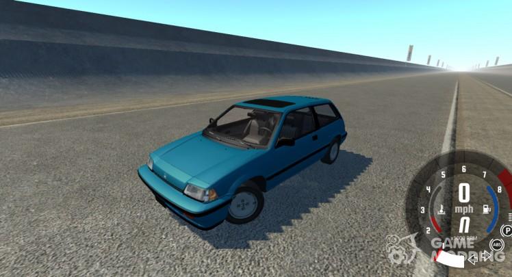 Honda Civic SI 1986