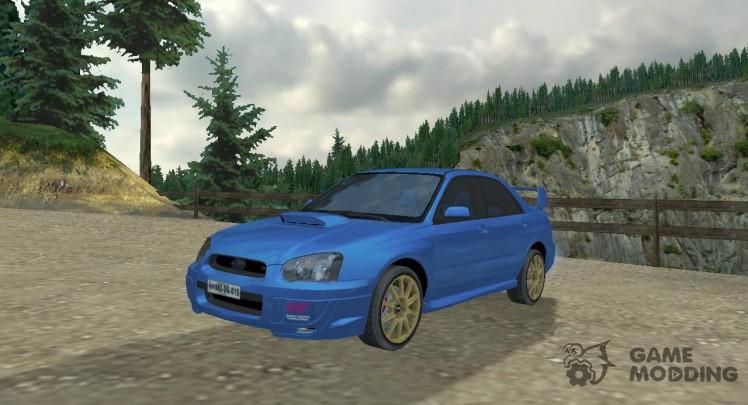 Subaru Impreza II Facelift WRX STi