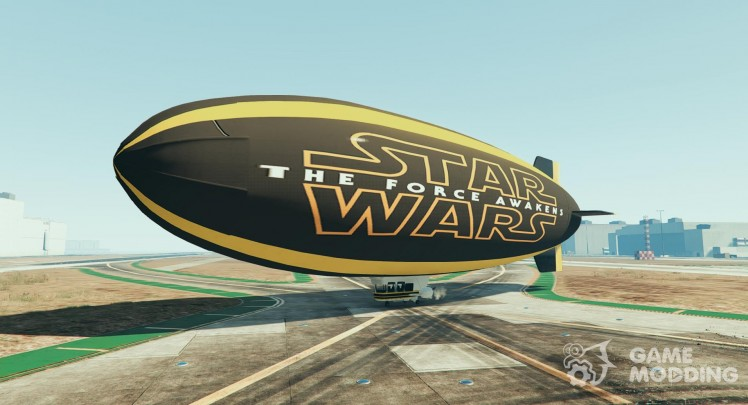 Star Wars the Force Awakens Blimp