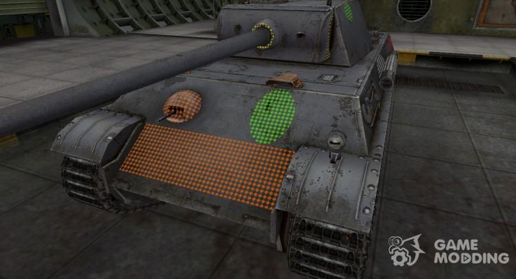 Area penetration PzKpfw V Panther