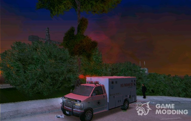 Ambulance from GTA IV