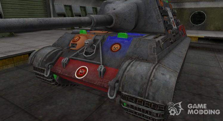 High-quality skin for 8.8 cm Pak 43 JagdTiger