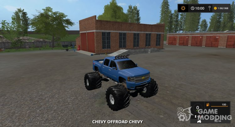 Chevy MUD TRUCK v1.1 Multicolor