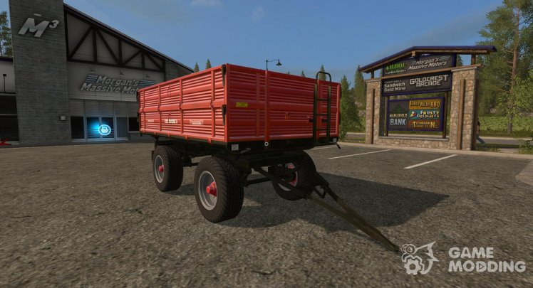 The trailer-truck Ursus T610A1 version 1.0