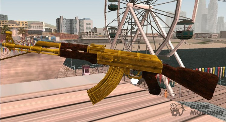 COD: MW1 AK-47 Gold Version