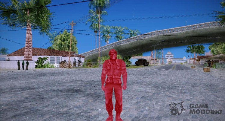 Red Solider from Army Men Serges Heroes 2 (DC)
