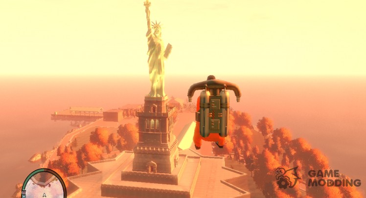 The statue of liberty in 2.0