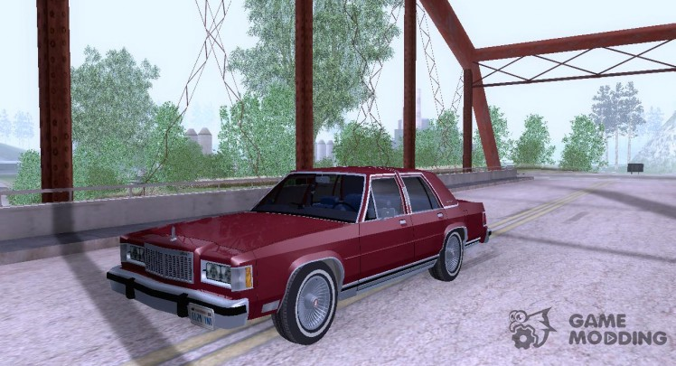 Mercury Grand Marquis LS '86
