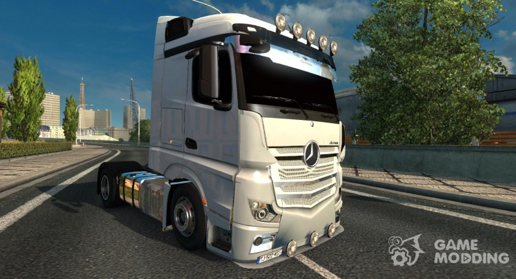 Mercedes Benz MP4 1.22