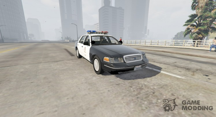 1998 Ford Crown Victoria P71 - LAPD 1.1