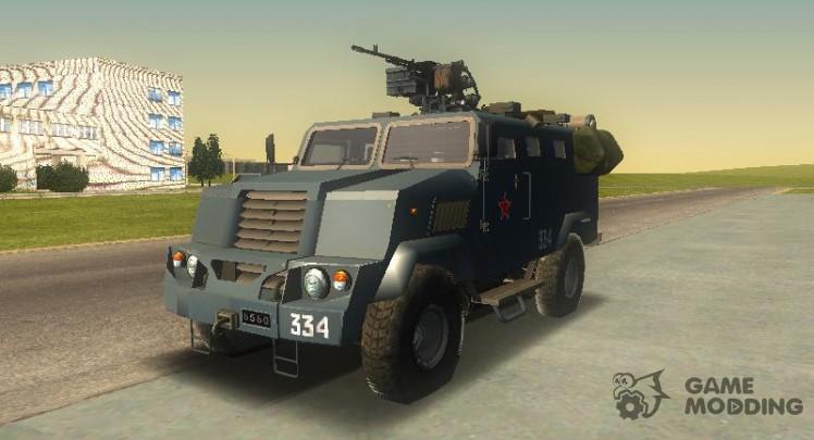 MILITARY Armoured Bear
