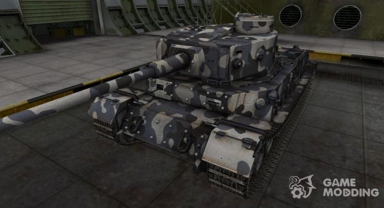 Немецкий танк PzKpfw VI Tiger (P)