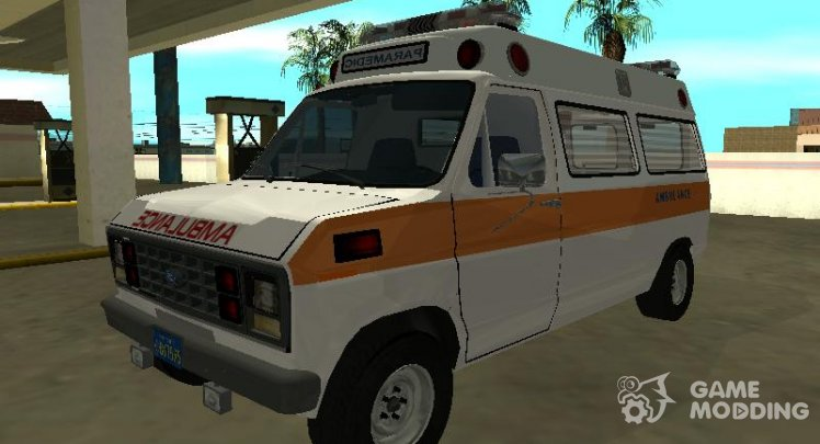 Ford Econoline E-250 1986 ambulance