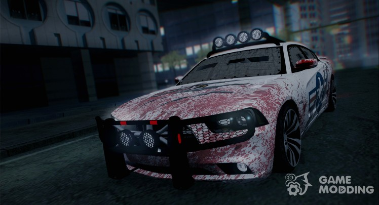 Dodge Charger SRT8 2012 Anti Zombie