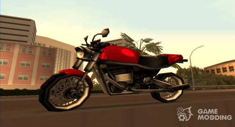 Motorbikes for GTA Vice City with automatic installation