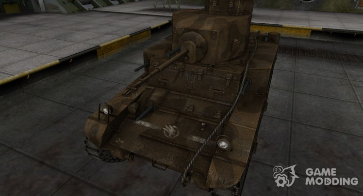 Skin-C&C GDI for M3 Stuart