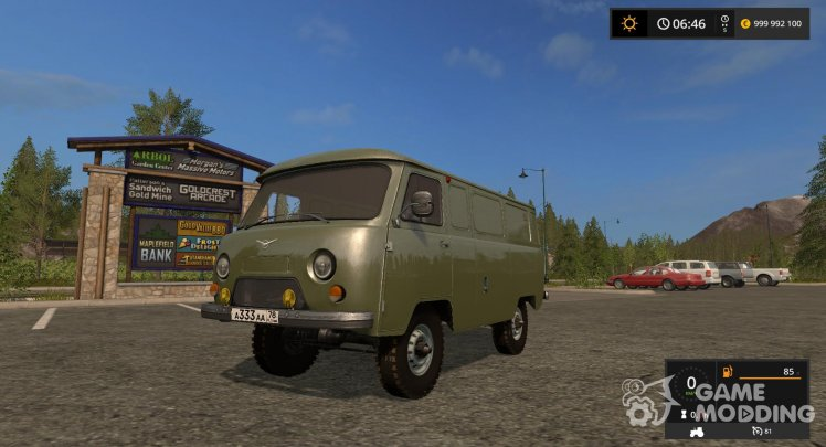 UAZ-452 (Loaf) for Farming Simulator 2017