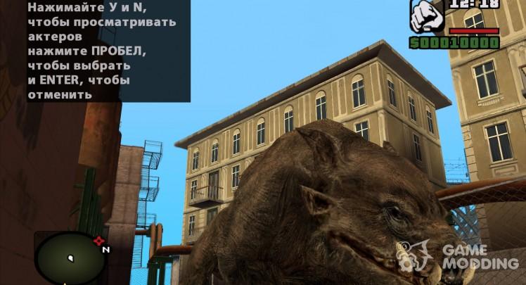 Wild boar from s. t. a. l. k. e. R