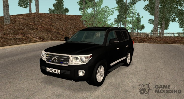 Toyota Land Cruiser 200 The Government