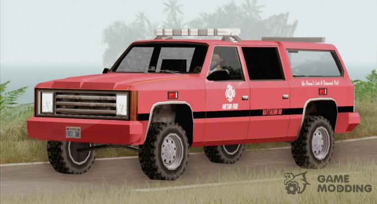 FBI Rancher-Metro Fire Battalion Chief 69