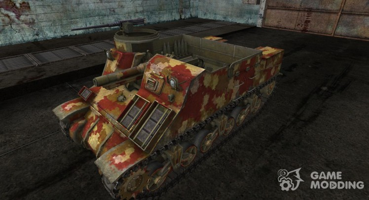 Skin for M7 Priest Desert