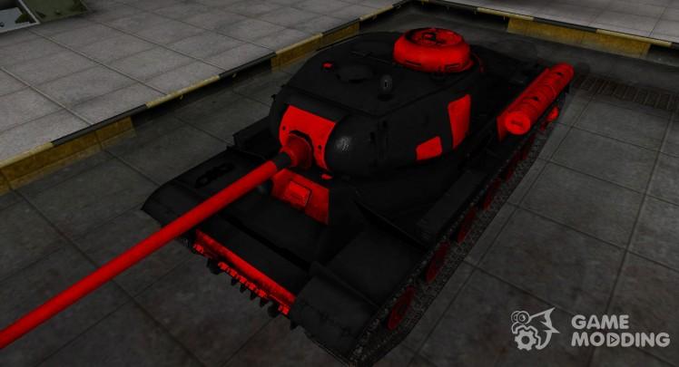Черно-красные зоны пробития ИС