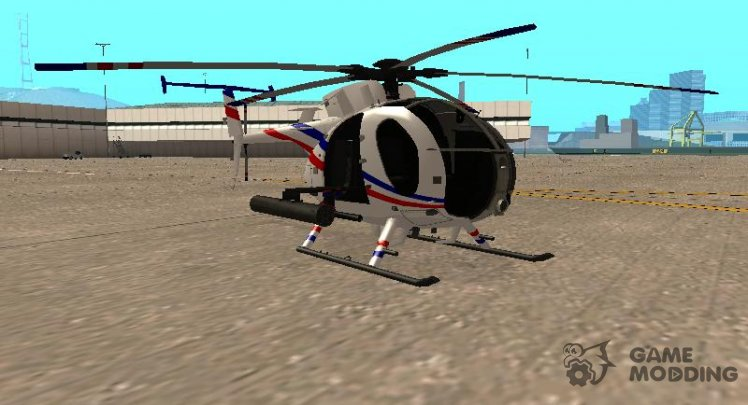 AH 6J Little Bird GBS News Chopper Nuclear Strike