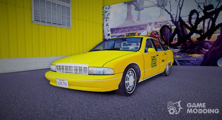 1991 Chevrolet Caprice Taxi