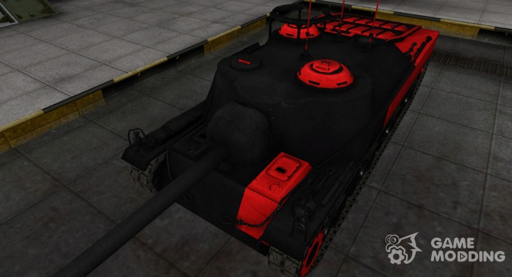 Black and red zone breakthrough T28