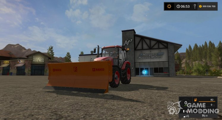 Blade for snow for Farming Simulator 2017